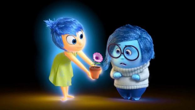 A Derű és a Bánat az Inside Out című filmben Forrás: http://www.doctordisney.com/2016/01/21/disney-rumor-inside-out-meet-and-greet-with-joy-and-sadness-coming-to-epcot/