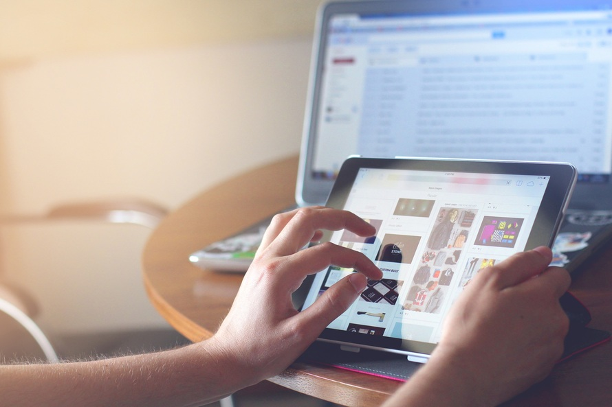Digitális oktatás -fotó:pexels.com